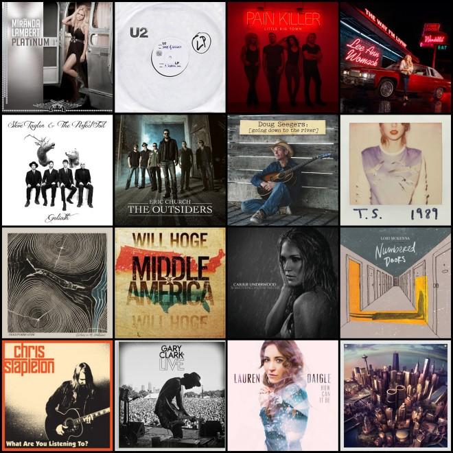 2014 Album Covers